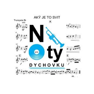 Aký je to svit (kvarteto) noty